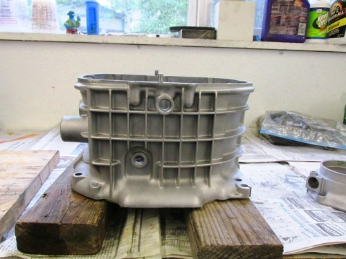 Refinished Transmission Case