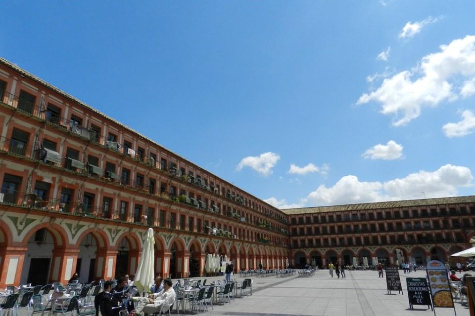 edificios Plaza de la Corredera Cordoba 01
