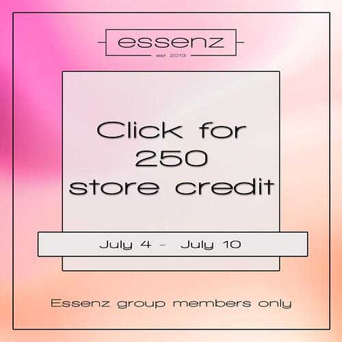 Essenz - 250 store credit