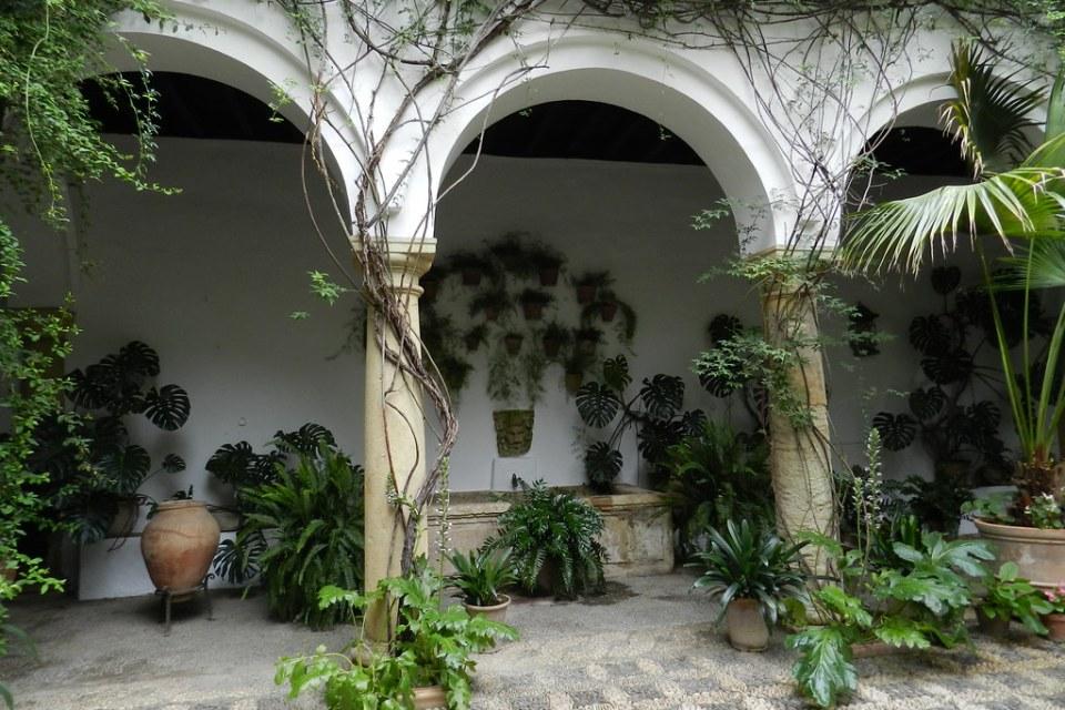 patio de Recibo Palacio de Viana Cordoba 02