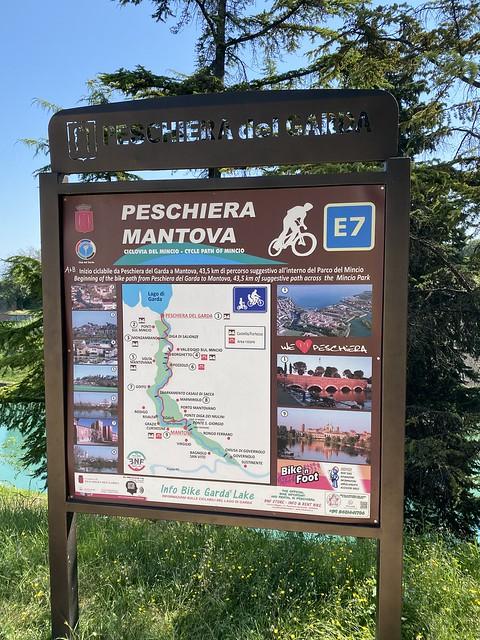 Radweg nach Mantua