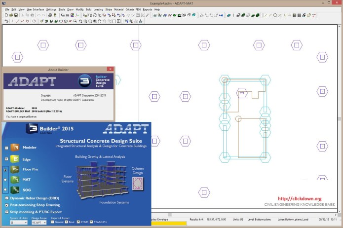 Working with ADAPT Builder 2015 Build 2015.0.032515 full license