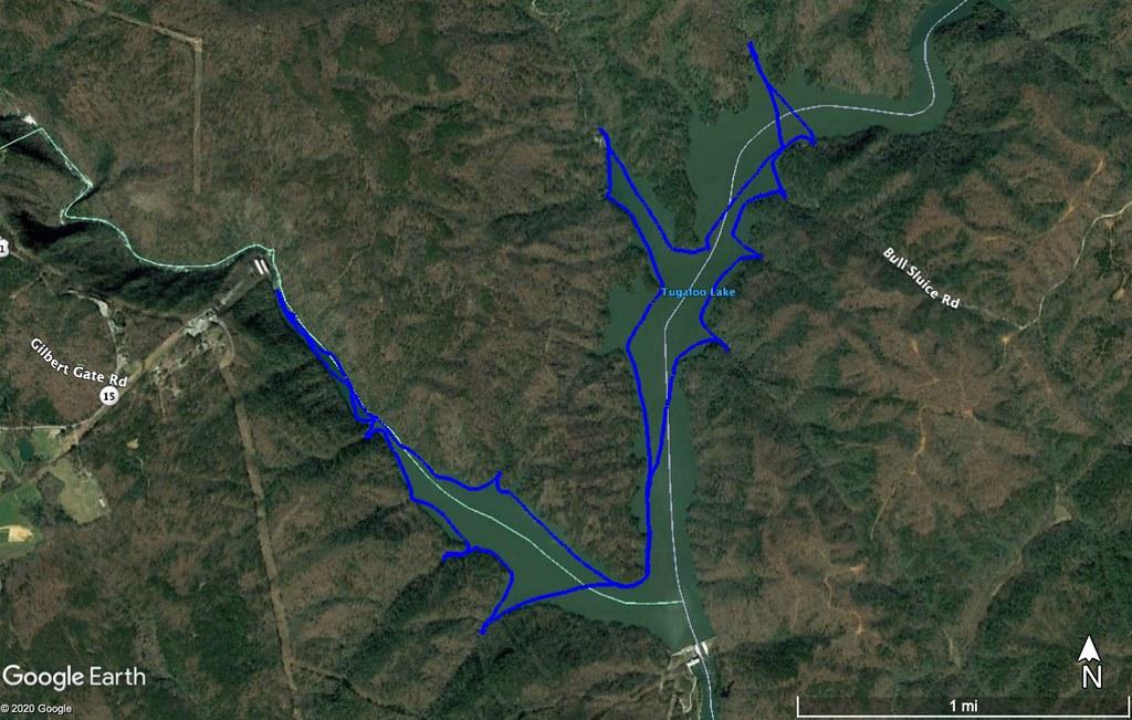 Lake Tugaloo Track
