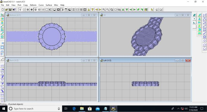Working with JewelCAD 5.2.1 full license