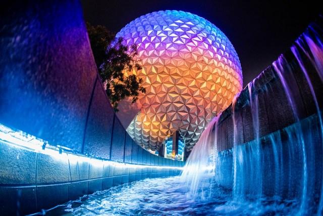 Walt Disney World Epcot Spaceship Earth