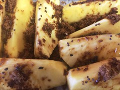 Pineapple, Muscovado, Cardamom — Before Oven