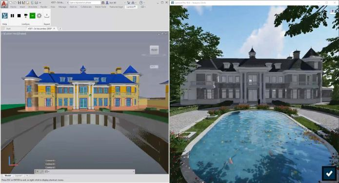 Working with Lumion Pro 10.3.2 full license