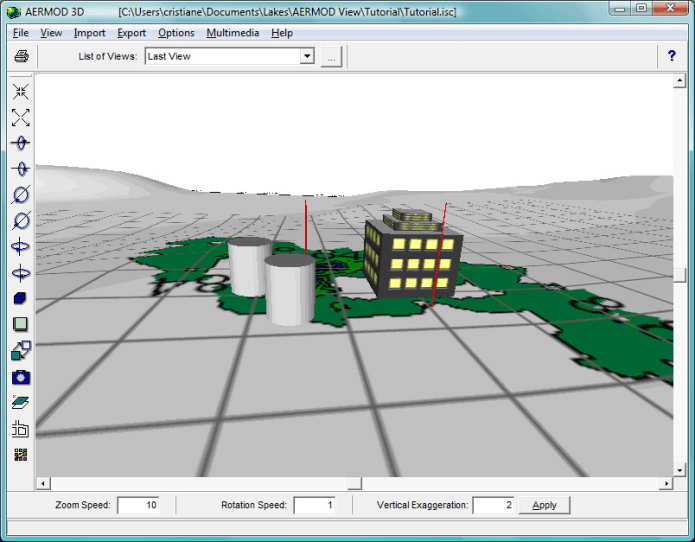 Working with Lakes Environmental AERMOD View 8.9.0 full