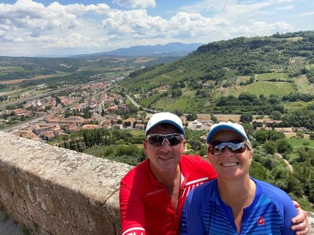 Hoch über den Dächern von Orvieto