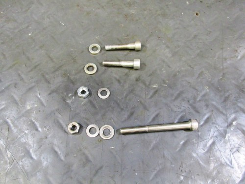 Transmission Mounting Hardware-But Not Entirely Correct
