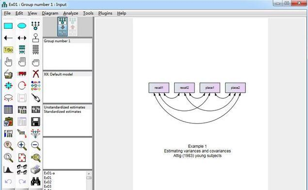 Working with IBM SPSS Amos 24.0 full