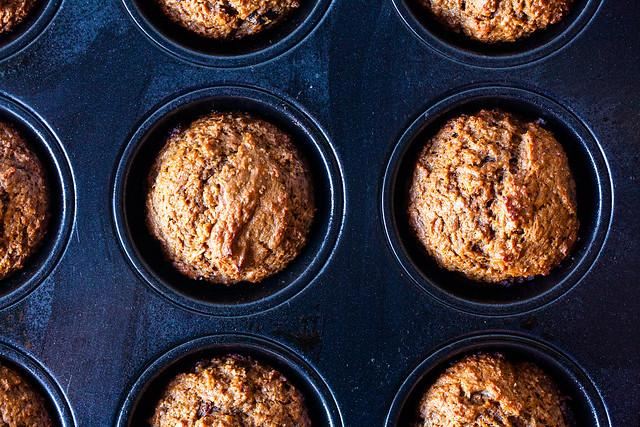 baked sour cream bran muffins