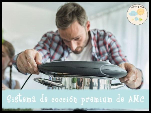 Sistema de cocción premium de AMC