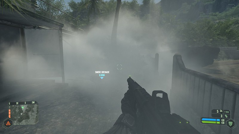 Crysis - Ultra Settings - Smoke Grenade