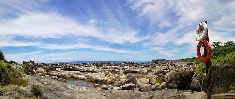 臺東小野柳的其一觀海處-照片由李金發拍攝