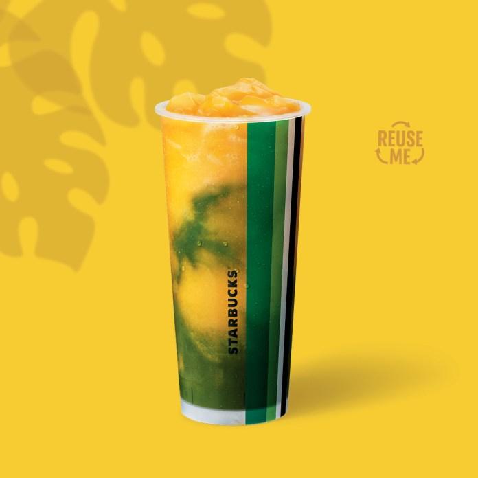 Starbucks_Mango Matcha Freeze
