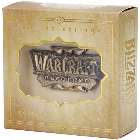 Warcraft III Reforged Collector's Edition Pin