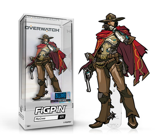 FiGPiN Overwatch McCree Collectible Pin
