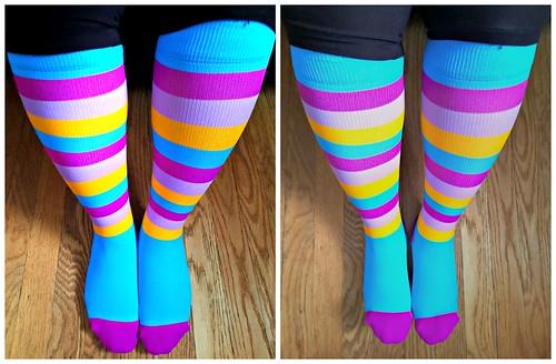 Nabee Compresion Socks @NabeeSocks #MySillyLittleGang