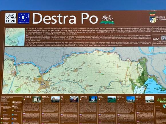 Radweg Destra Po