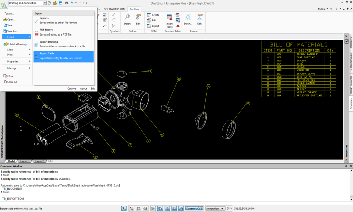 Working with DS DraftSight Enterprise Plus 2020 SP2.1 full