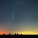 Comète Neowise au dessus du Ternois, juillet 2020