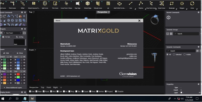 Working with Gemvision MatrixGold v2.2.20059 full