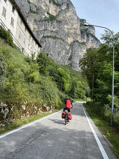 An der Brenta entlang