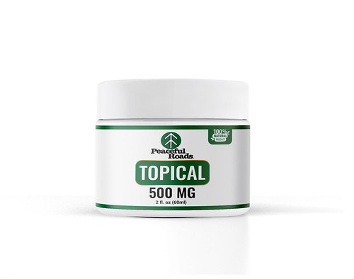 500mg THC-Free Topical