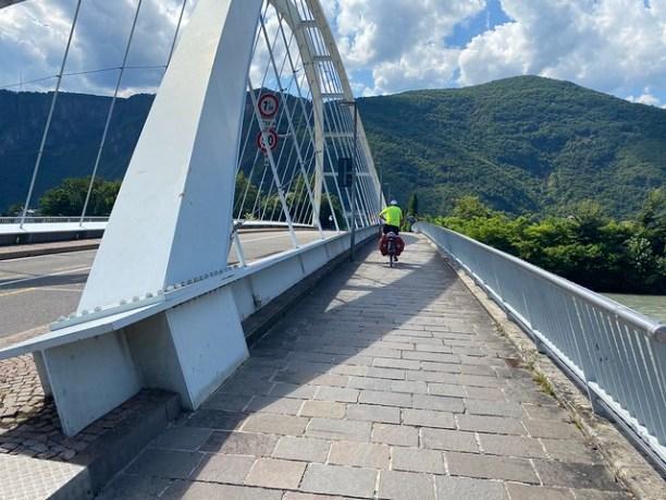 Brücke vor Bozen