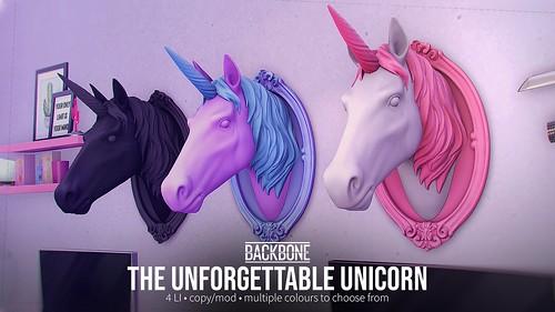 BackBone The Unforgettable Unicorn
