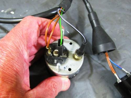 Volt Meter Wires Detail