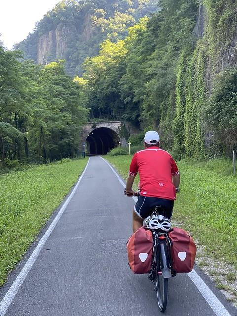 Traumhafter Bahn radweg nach Sterzing