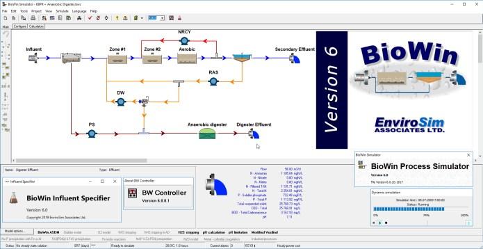 Working with EnviroSim BioWin 6.0 full license