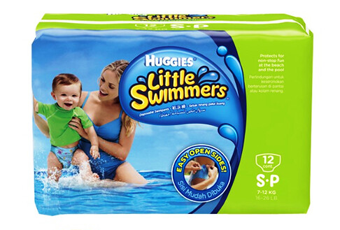 Huggies Little Swimmers Swimpants Small 12 pcs