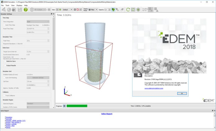 Working with DEM Solutions EDEM 2018 v4.0.0 full license
