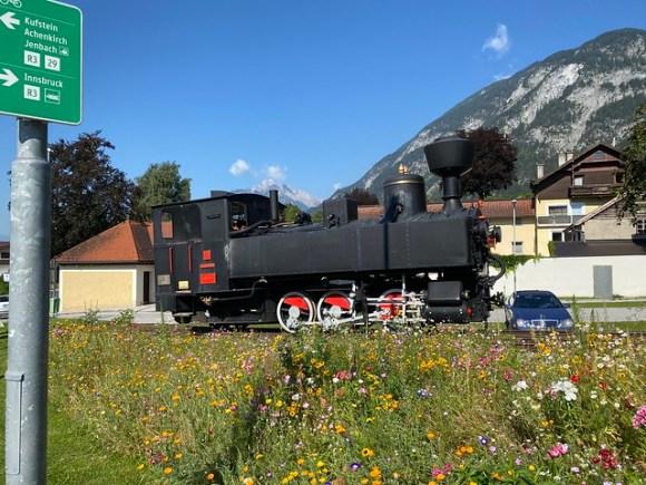 Alte Achenseebahn-Lok