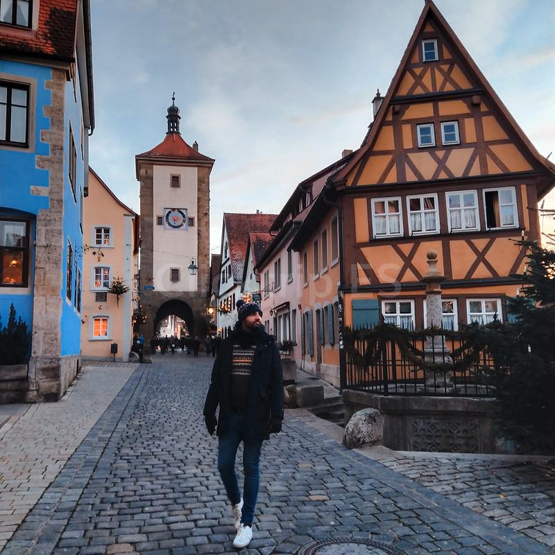 Romantische Strasse Alemania · Turismo de Alemania - Rothenburg ob der Tauber