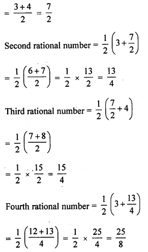 ML Aggarwal Class 9 Solutions for ICSE Maths Chapter 1 Rational Numbers Ex 1.1 Q6