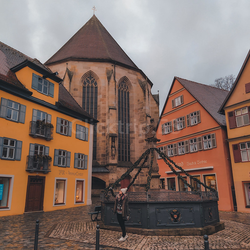 Dinkelsbülh - Romantische Strasse Alemania · Turismo de Alemania -