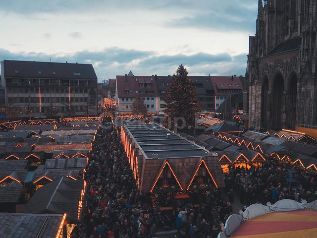 Qué ver en Ulm - Romantische Strasse Alemania - Mercadillo Navideño de Ulm