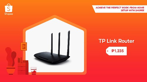TP Link Router Shopee