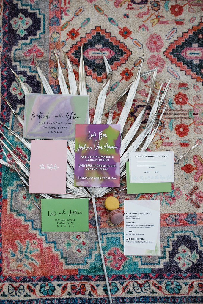 Dallas Wedding invitation suite