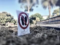 Don't Tread On This railwaygarden.org.au