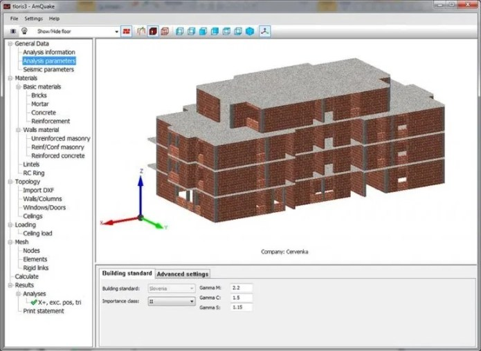 Working with ATENA Masonry earthQuake (AmQuake) 3.8.14998 full