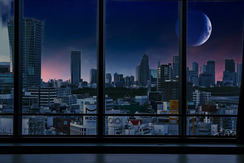 Shibuya photoshop camera night shift lens filter 05