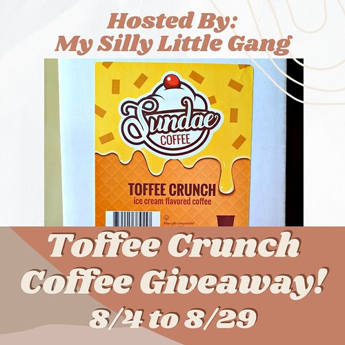 Toffee Crunch Coffee Giveway