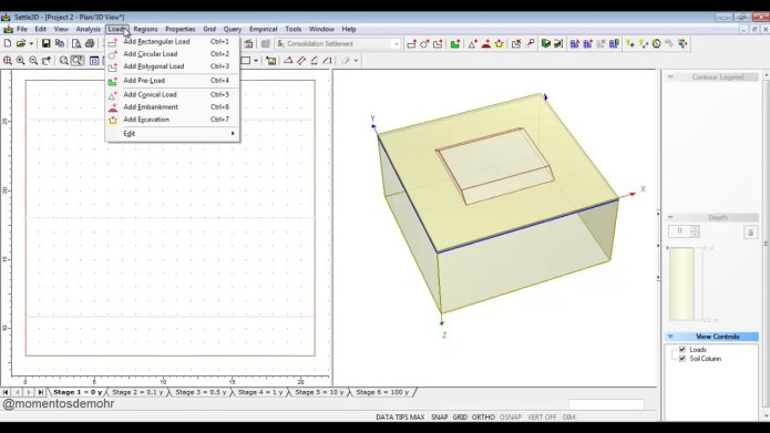 Working with Rocscience Settle 3D 2.016 full