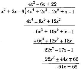 Polynomials Class 10 Extra Questions Maths Chapter 2 with Solutions Answers 15