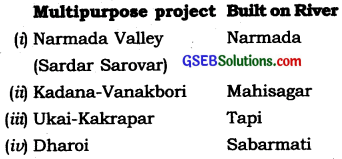 GSEB Solutions Class 10 Social Science Chapter 11 India Water Resources 5